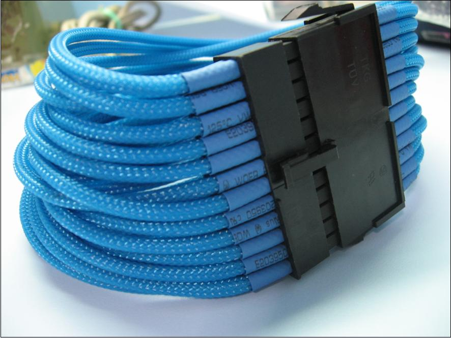 6mm Sleeve w heatshrink (5m/pack)- Aquamarine Blue