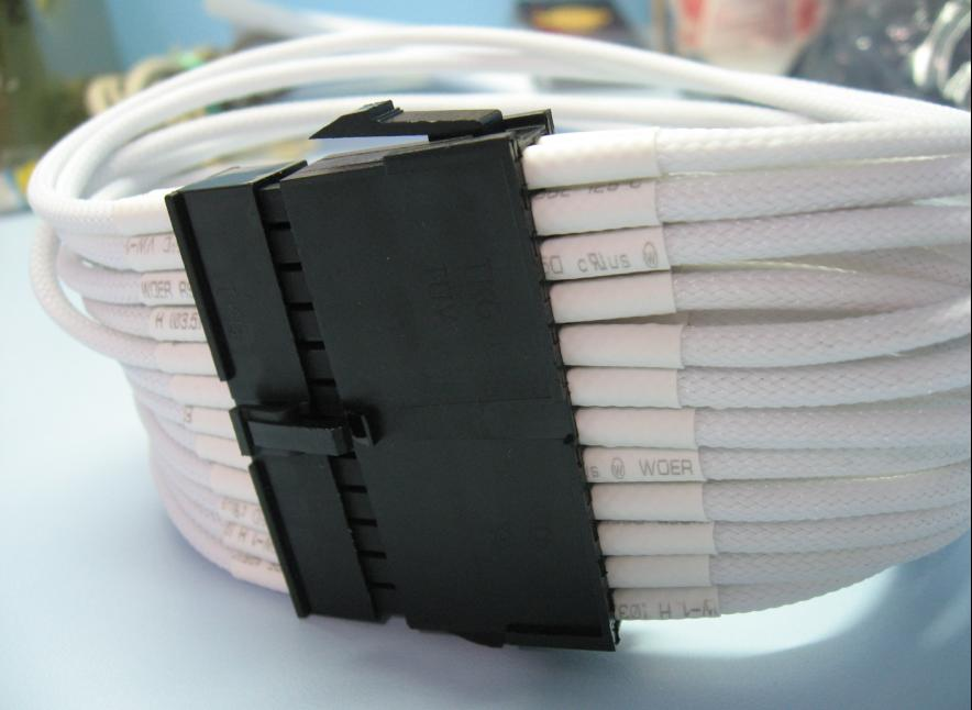 4mm Sleeve w heatshrink (5m/pack)- White